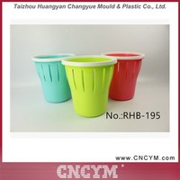 2016 new product promotional colored small plastic trash can