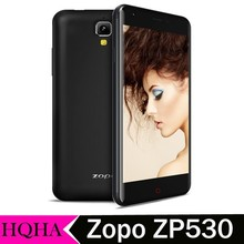 Original ZOPO 530 ZP530 MTK6732 Quad Core 4G FDD LTE Android 4.4 Mobile Phone 1GB RAM 8GB ROM 8.0MP 5.0'' IPS Screen Moviles