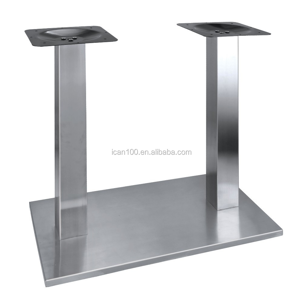 Stainless Steel Dining Table Legs For Marble Stone Tops