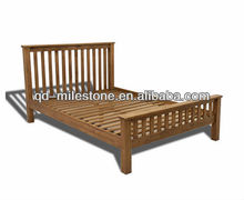 High Quality King Size Wooden Bed Frame 100% Solid Timber