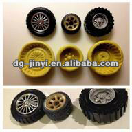High quality wear-proof silicone rubber car/toy wheels on sale