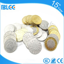 Cheap custom made silver token coins for sale