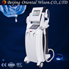 3 handles e-light+rf+ipl+laser laser lifting machine beauty salon ipl beauty equipment skin care and hair removal