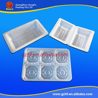 Multi-color/style transparent plastic stationery box