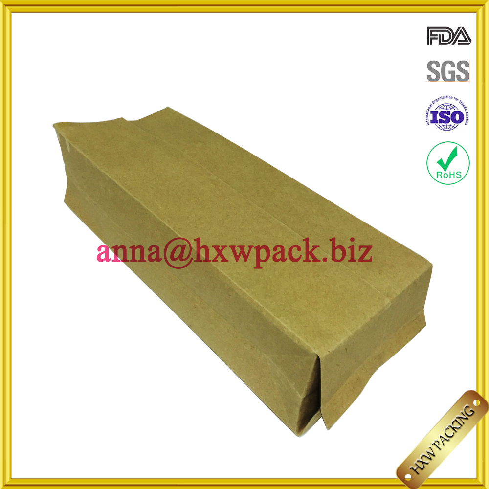 shenzhen uk market transparent recycle biodegradable food packaging paper pe bag