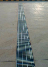 hot dipped galvanized steel Grating trench cover