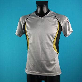 Performance v neck sport t-shirt