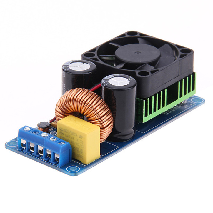 IRS2092S 500W Mono Channel Digital Amplifier Class <strong>D</strong> HIFI Power Amplifier Board IRS2092
