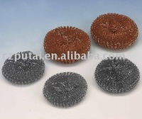 galvanized knitting mesh metal scourer