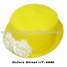 2011 popular lady straw hat HT-6882