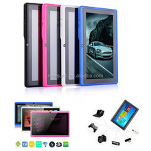 Q88 7inch LED 4GB A33 Tablet PC Android 4.0 Double Camera 3D OTG Wifi