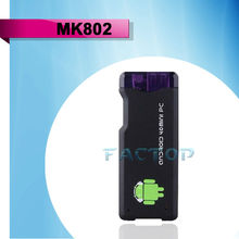 MK802 allwinner a10 android 4.0 media player google tv box