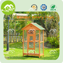 Wooden bird aviary, decorative bird cages