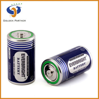 Quality and quantity assured R20 1.5v battery Size D offered