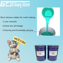 poly addition liquid silicone rubber for making mould