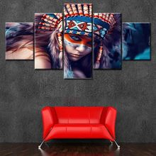 HD Printed Canvas Painting Wall Art Prints 5 Pieces Modular Poster Pictures Home Decor