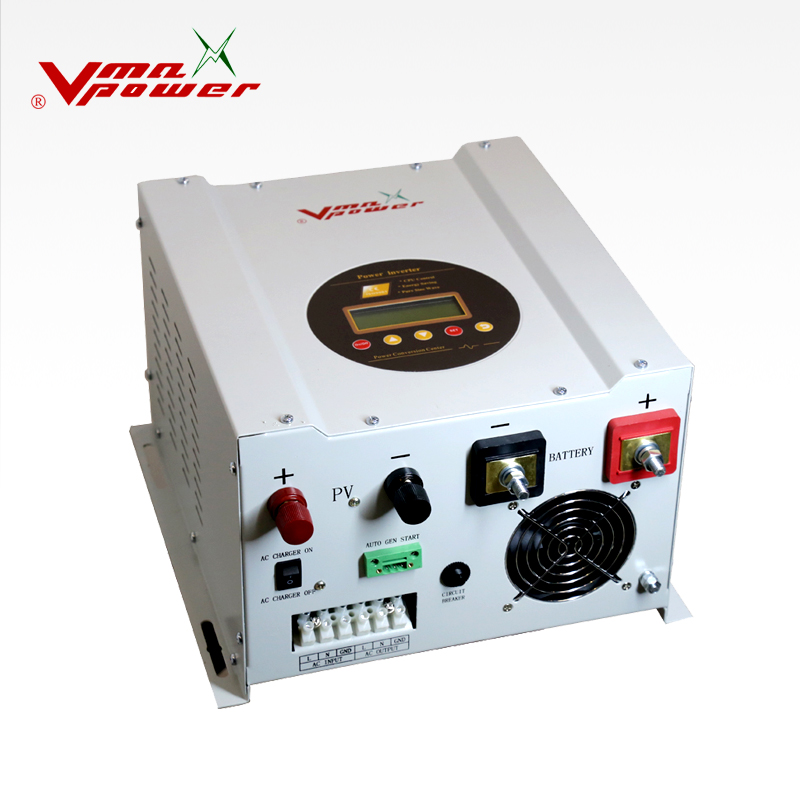 green energy low frequency 6KW 48V MPPT solar inverter with 60A charge controller