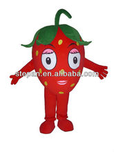 TF-2075 Strawberry Mascot Costume/ Fruit Costume Mascot