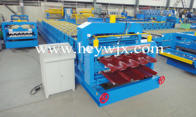 High rib/Crimped metal roof sheet rolling machines