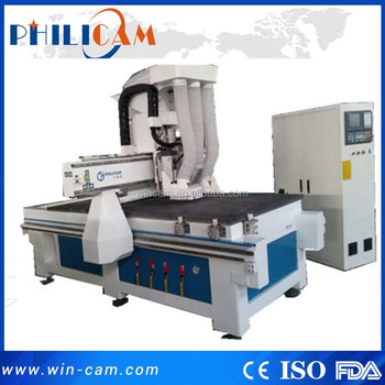 Jinan Wincam cheap cnc router with boring head