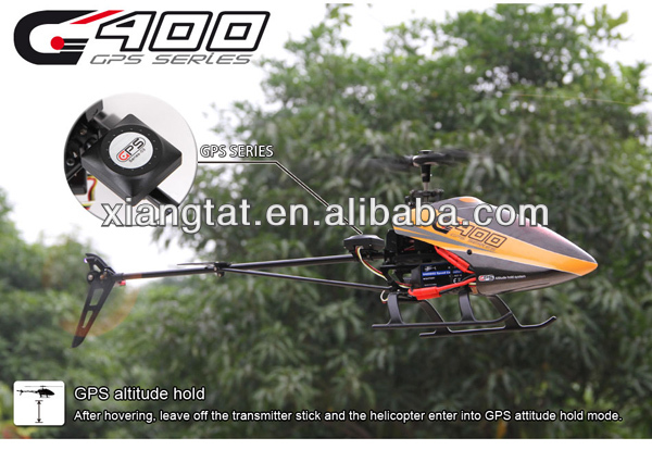 Walkera G400 with DEVO 7E 6 axis RTF 6ch 3D Flybarless RC Helicopter with GPS Function