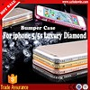 2016 Hot Selling Luxury Fashion Bling Diamond Case For iphone 5 5s,For iphone 5 5s Diamond Jewelry Cases Cheap Price