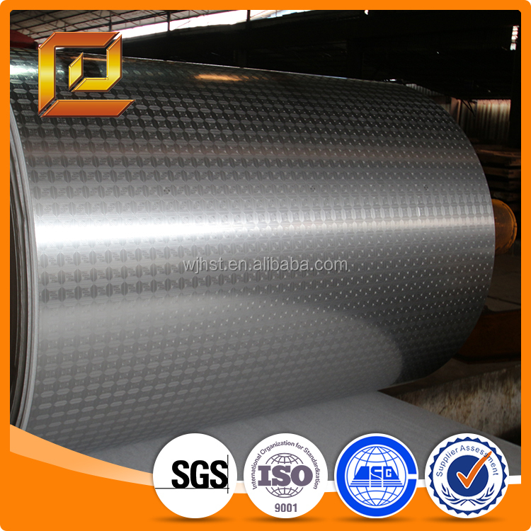 Aisi 304 Embossed Stainlesss Steel Coil