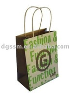 2012 fashion brown kraft paper bag