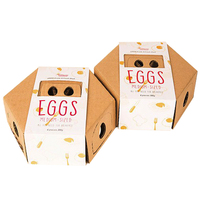 hexagon packaging paper box for egg packing