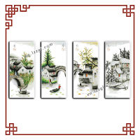 NKF Four seasons in water village (all) cross stitch patterns