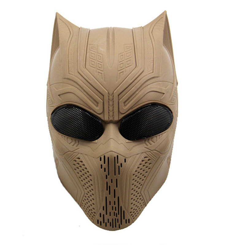 Airsoft Eva Halloween Panther Mask Design Of Party