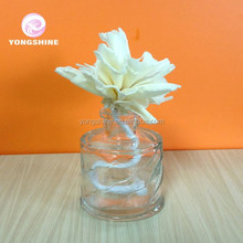 50ml Beautiful Flower Vine Engraved Diffuser Glass Bottle
