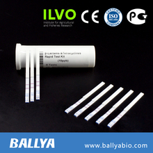 Beta-lactam+tetracycline detection antibiotic residue rapid test strip cow milk antibiotic rapid test