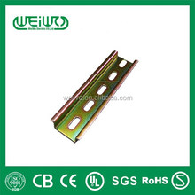made in China Cold rolled Steel Din rail