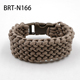 Braided Conquistador paracord bracelet Nylon bracelet for outdoor survival