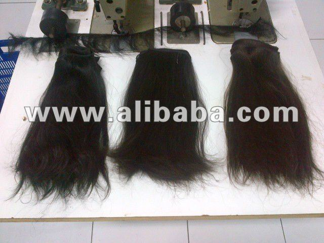 Human Hair Virgin Remy Weft Indonesian Hair