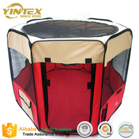 Hot custom oxford foldable Portable dog tent pet playpen Waterproof Kennel