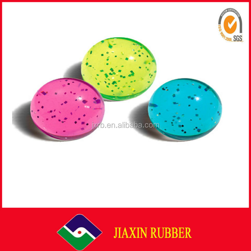 2014 soft kids toy rubber bouncy ball/sticky ball toy