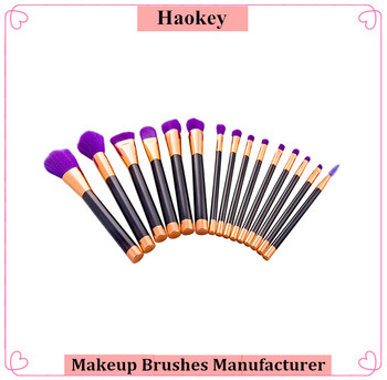 Hot Selling Style For Daily 15pcs Makeup Brushes Foundation Blush Face Powder Contour Bronzer Set makeup brush set