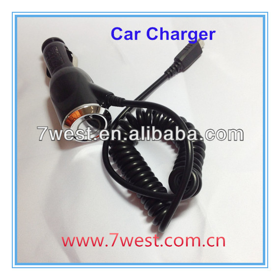 New High Quality Micro USB Car Charger For Samsung Galaxy S3 I9300 Nexus i9250 / GALAXY Note II N7100 S2 i9100 S5830