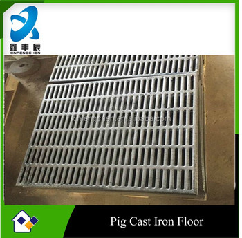 cast iron pig floor