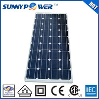 80 watt solar panel With VDE(IEC61215&IEC61730) for sale