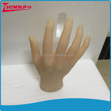 Custom Silicone simulation hand model soft silicone artificial human hand