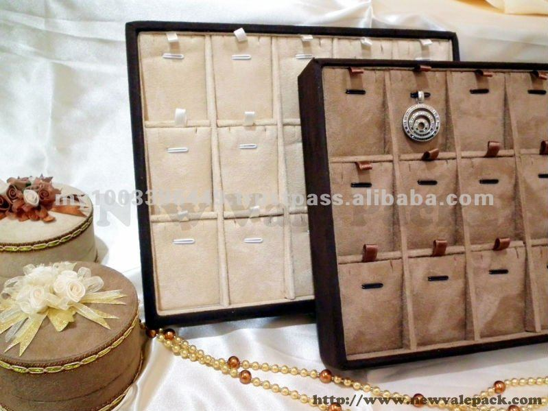 TP2520 Model Velvet Jewelry Display Tray
