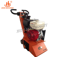 "10"" Petrol Engine Bitumen Joint Sealant Paint Remover Machine Scarifying Milling Machine"