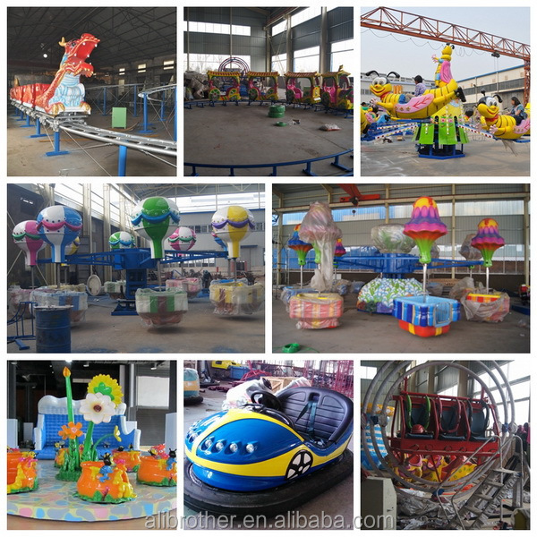 Kids Adult Thrill Amusement Attraction Equipment Carnival  flying saucer  Rides For Sale