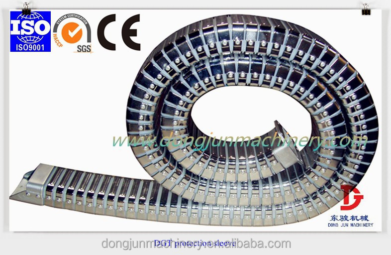 industrial flexible electric cable sleeve