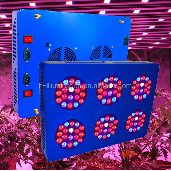 factory supply greenhouse full spectrum 108*3W replace apollo 6 led grow light