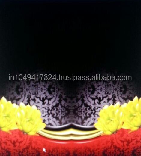 black digital print fabric,high quality georgette fabric,latest design fabric