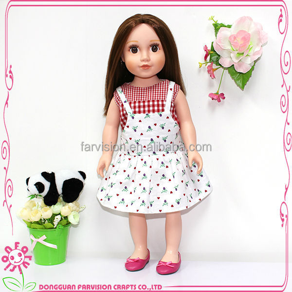 Custom 24 inch doll girl vinyl body baby alive doll toy